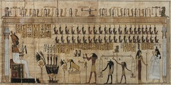 real egyptian papyrus