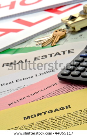 Real estate listing and home seller disclosure broker for Financial documents needed for mortgage