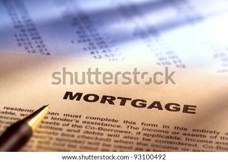 Real estate mortgage application document form over for Financial documents needed for mortgage