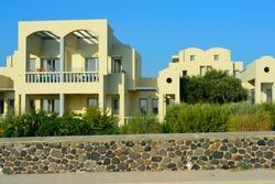 Real estate on Santorini island, Greece