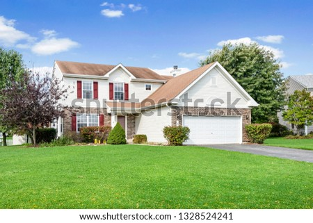 Real Estate Residential Exteriors #1328524241