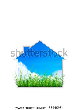 Real Estate Sign- House