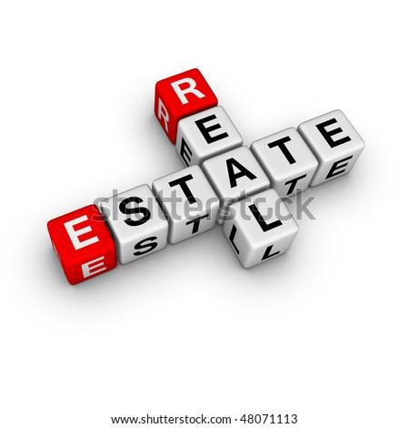 real estate symbol (from crossword series)