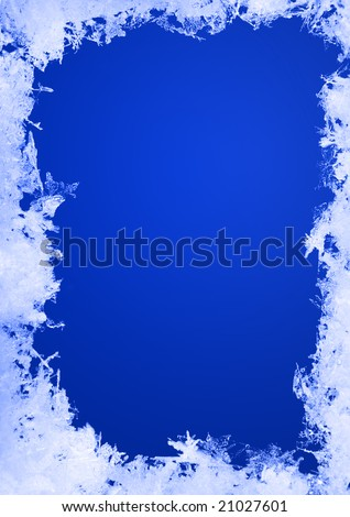 real frozen frame - stock photo