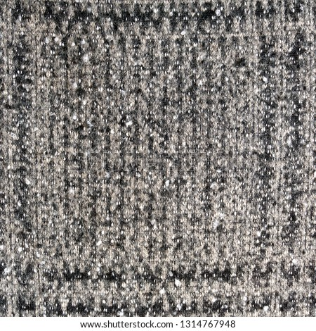 830fd65413c Real heather knitted fabric made of wool fibres textured background. Greey fabric  texture. Background