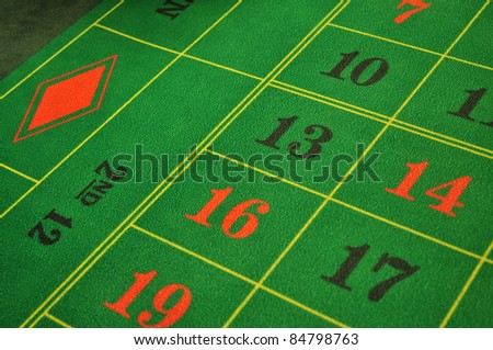 real live casino roulette green layout with numbers