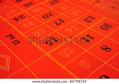 real live casino roulette red layout with numbers