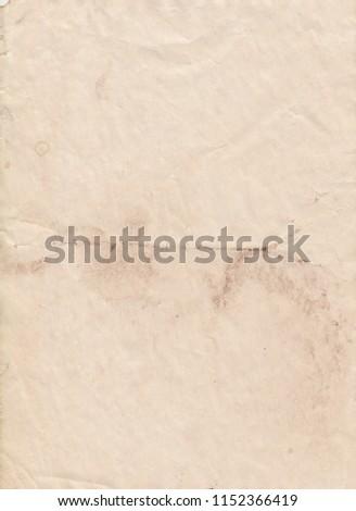Real old paper, vintage paper background #1152366419