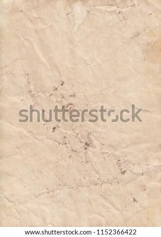 Real old paper, vintage paper background #1152366422