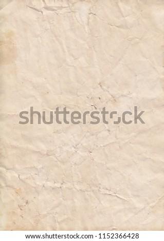 Real old paper, vintage paper background #1152366428