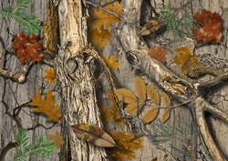 Real Tree Camouflage for hunting shirt
