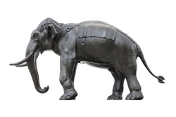 realistic elephant sculpture Asian style