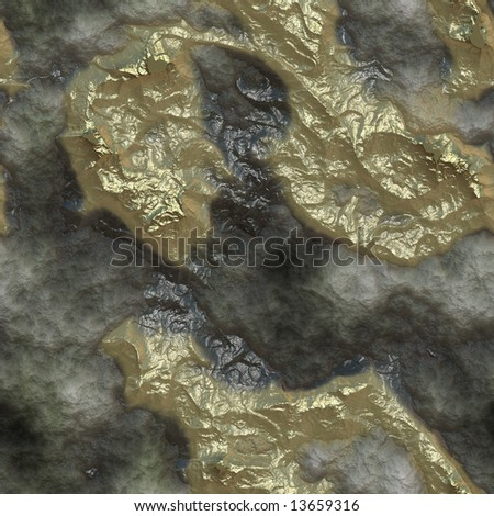 Raw Gold in Rock http://www.shutterstock.com/pic-13659316/stock-photo-realistic-raw-gold-ore-inclusions-in-volcanic-rock-seamless-texture.html