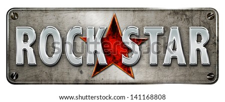 realistic 'rock star' image