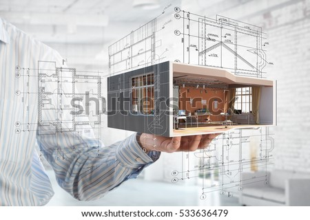 Shutterstock Realize your interior dream . Mixed media