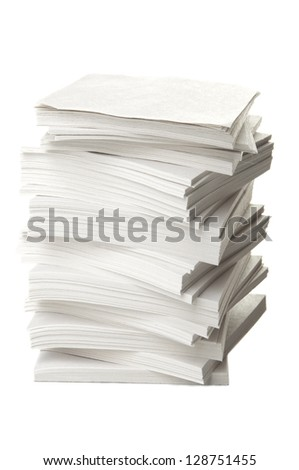 Ream of papers