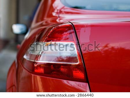 Rear light of a car