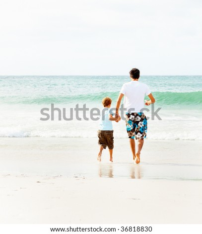 holding hand clipart. Father+and+son+holding+hands+clipart