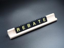 Rebate single word
