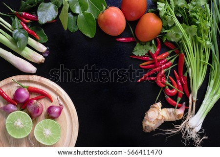 Free photos recipe book with fresh herbs south asia and spices on recipe book with fresh herbs south asia and spices on black background concept thai forumfinder Choice Image