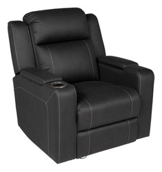 Recliner sofa set made by leather with multiple color and design