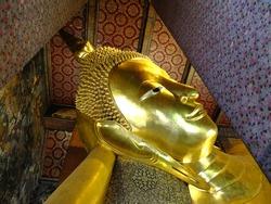 Reclining Buddha statue, Bangkok, Thailand