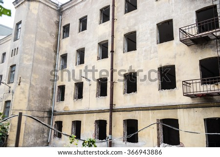 Reconstructing Old Building in Minsk #366943886