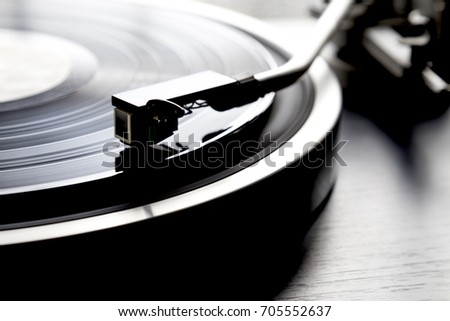 Record and Record Player #705552637