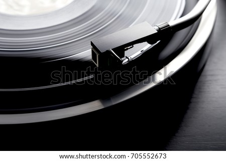 Record and Record Player #705552673