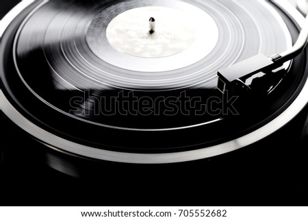 Record and Record Player #705552682