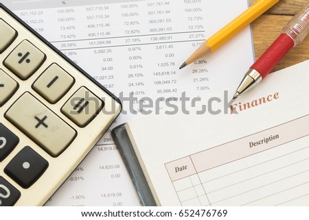 record expense income and financial statement yearly balance sheet