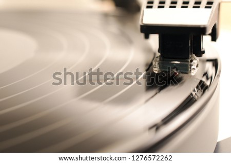 Record Player Close up #1276572262