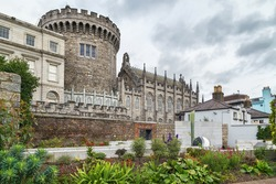 Record Tower and Chapel Royal in Dublin castle, Ireland