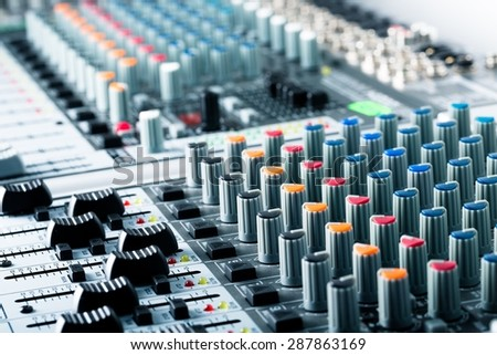 Recording Studio, Sound, Audio Equipment.