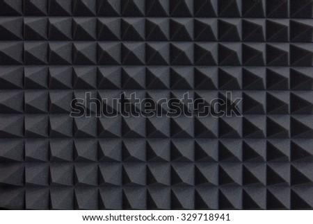 Recording studio sound dampening acoustical foam