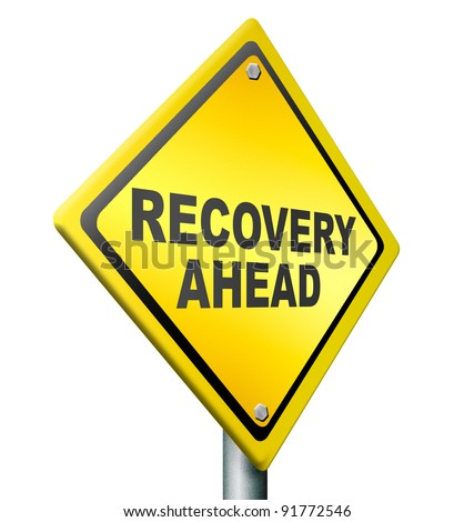 recovery ahead revival of economy after financial and bank crisis, monetary euro