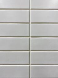 rectangle background. White rectangle mosaic tiles texture background. bathroom tiles