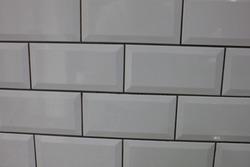 Rectangle Metro Bevelled gloss tiles