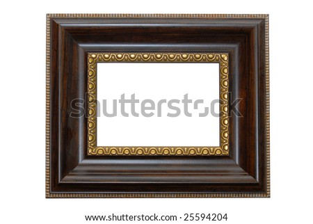 rectangular wooden grange frame ...