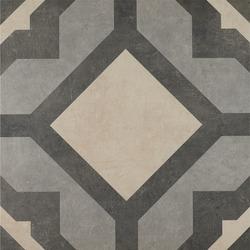 Rectified porcelain tile texture for outdoor flooring