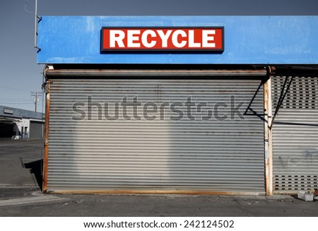 recycle business in industrial park