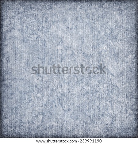Recycle Powder Blue Paper Coarse Bleached Mottled Vignette Grunge Texture