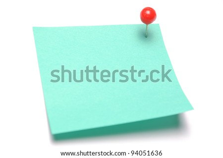 Recycle Sticky Note