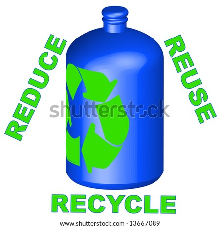 reduce reuse recycle logo. with reduce reuse recycle