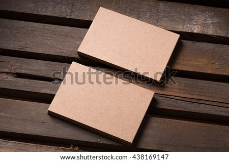 Free photos recycled paper business cards mock up avopix recycled paper business cards on wooden background 438169147 reheart Images