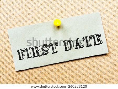 first date card message