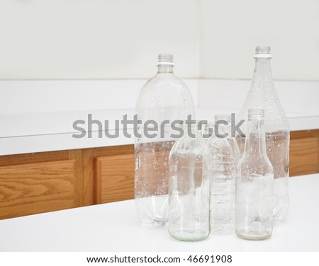 Recycling Empty Bottles
