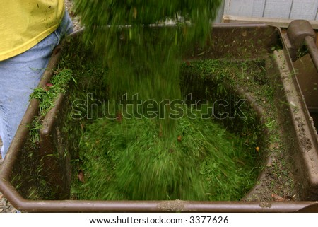 Recycling grass clippings