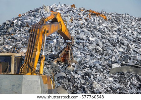 Recycling industry. Business Recycling.Waste separation.