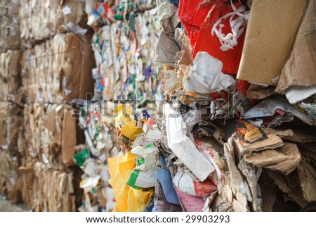 recycling of paper and cardboard for reuse